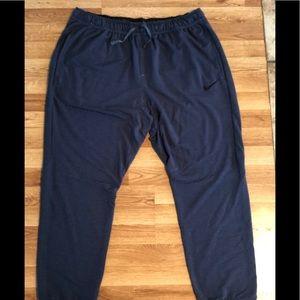 Nike Dry Fit Blue Heather Jogger XXL